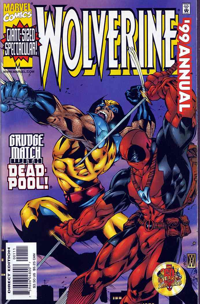 Wolverine comic issue 1999