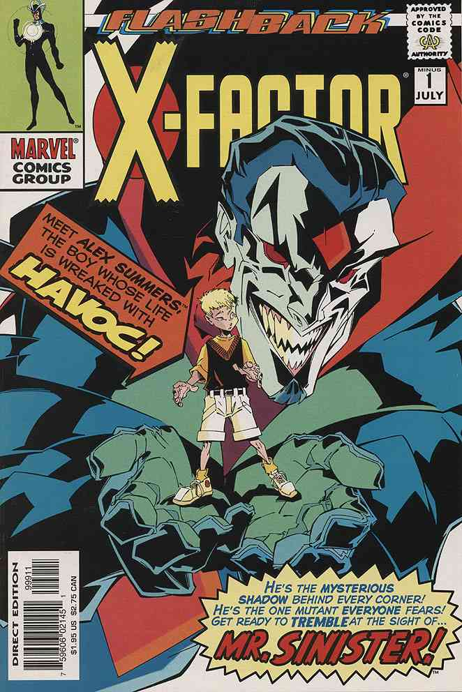 X-Factor comic issue -1