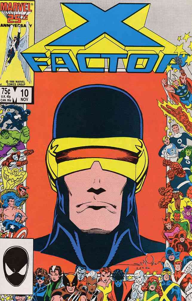 X-Factor comic issue 10