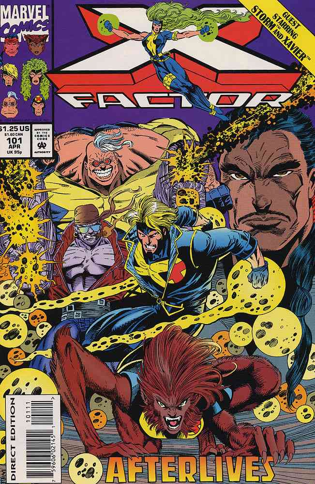 X-Factor comic issue 101