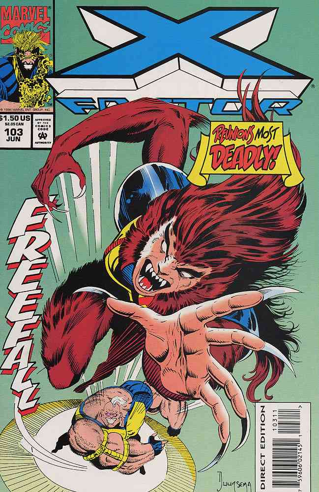 X-Factor comic issue 103