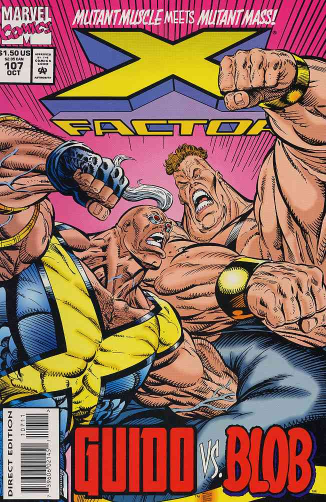 X-Factor comic issue 107