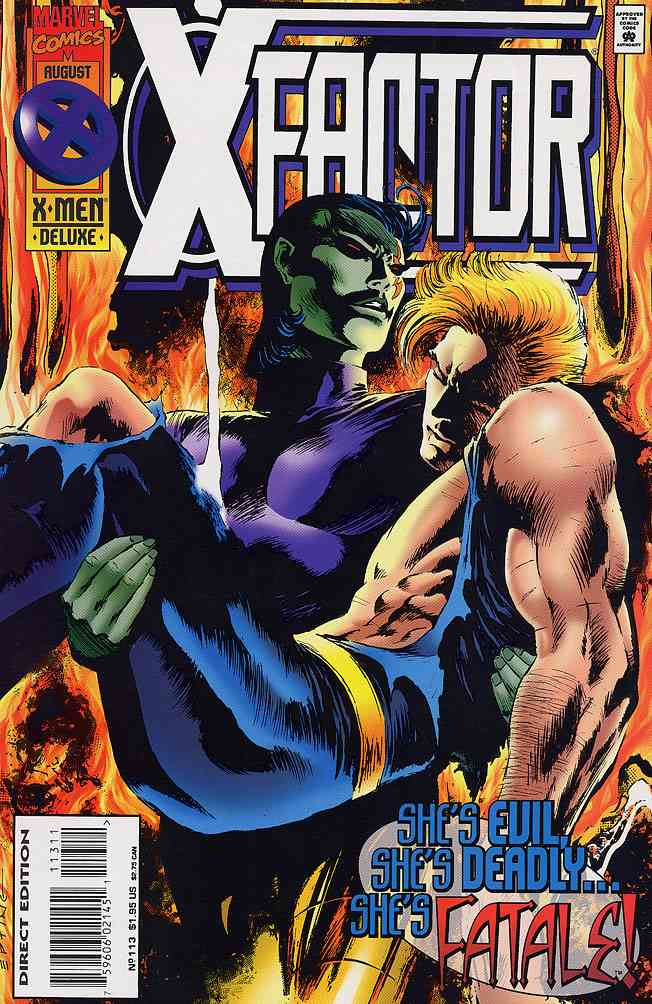 X-Factor comic issue 113