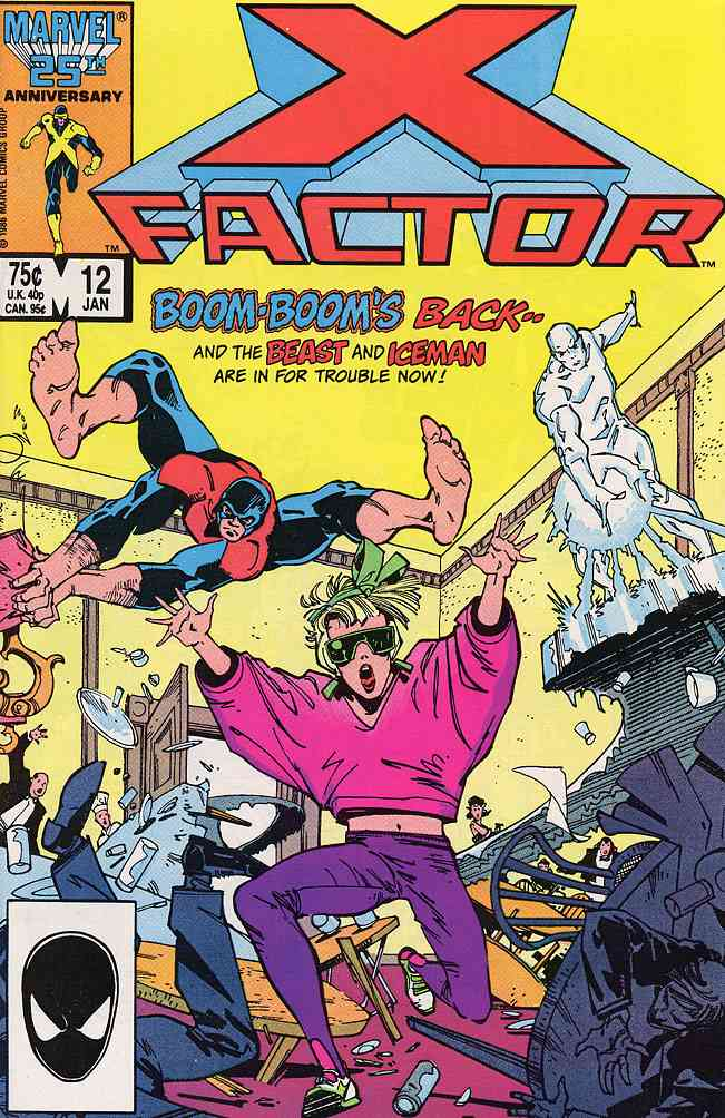 X-Factor comic issue 12