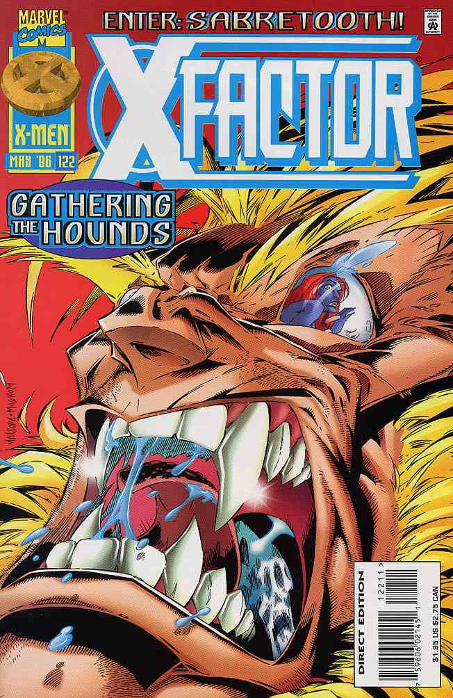 X-Factor comic issue 122