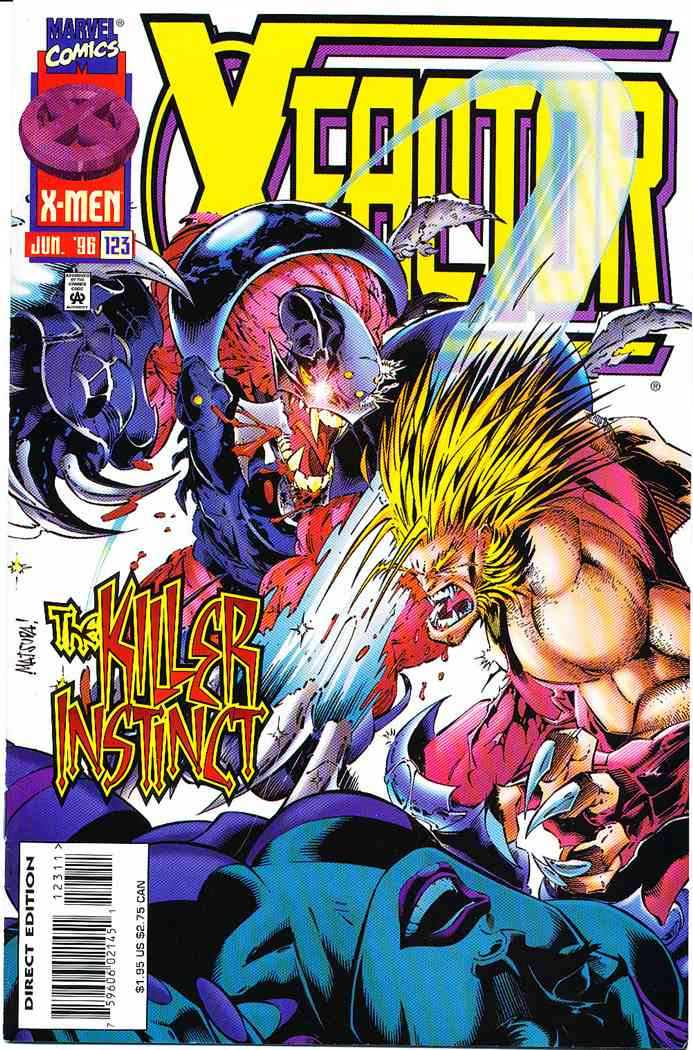 X-Factor comic issue 123