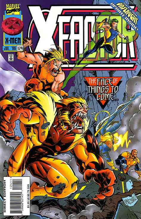 X-Factor comic issue 124