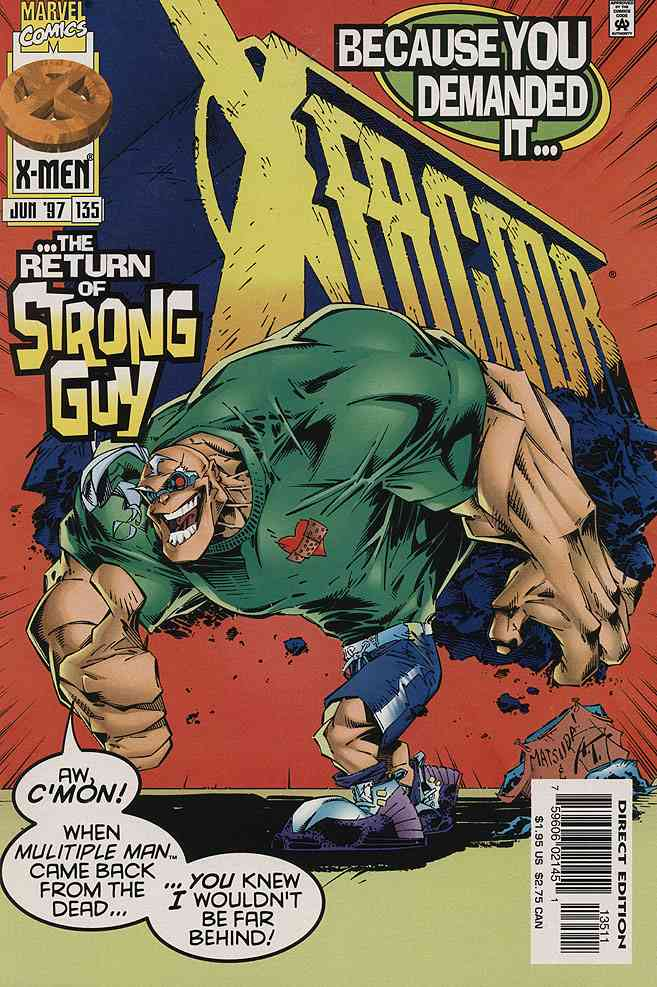 X-Factor comic issue 135