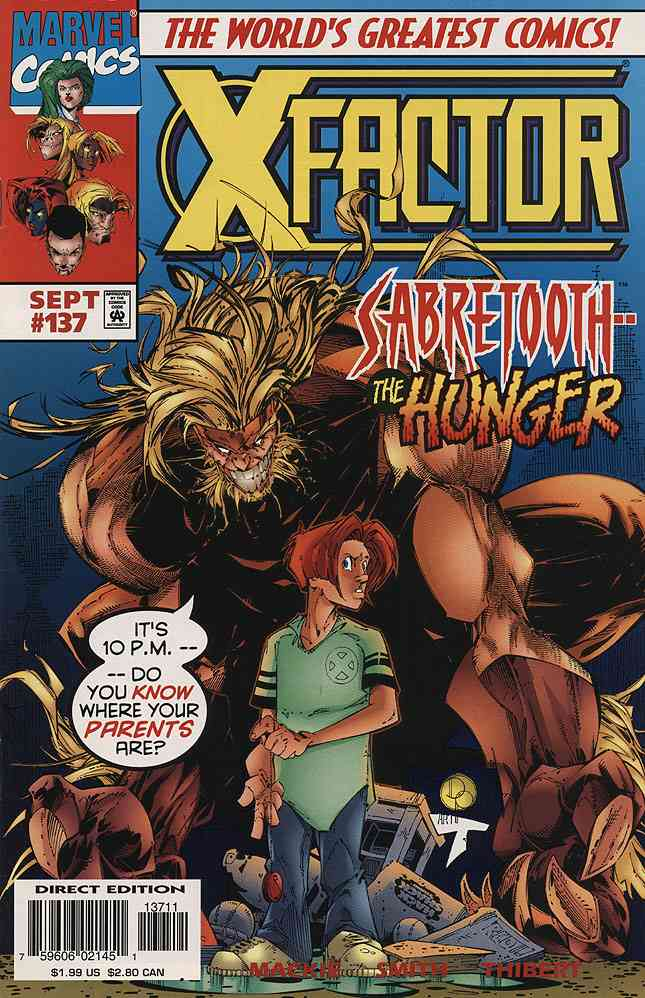 X-Factor comic issue 137