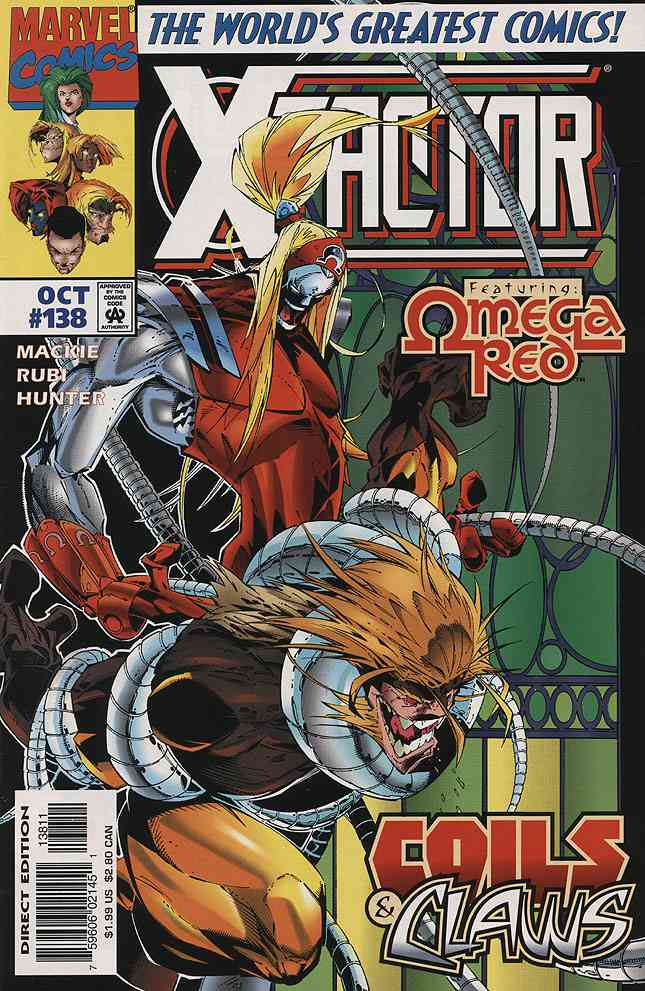 X-Factor comic issue 138