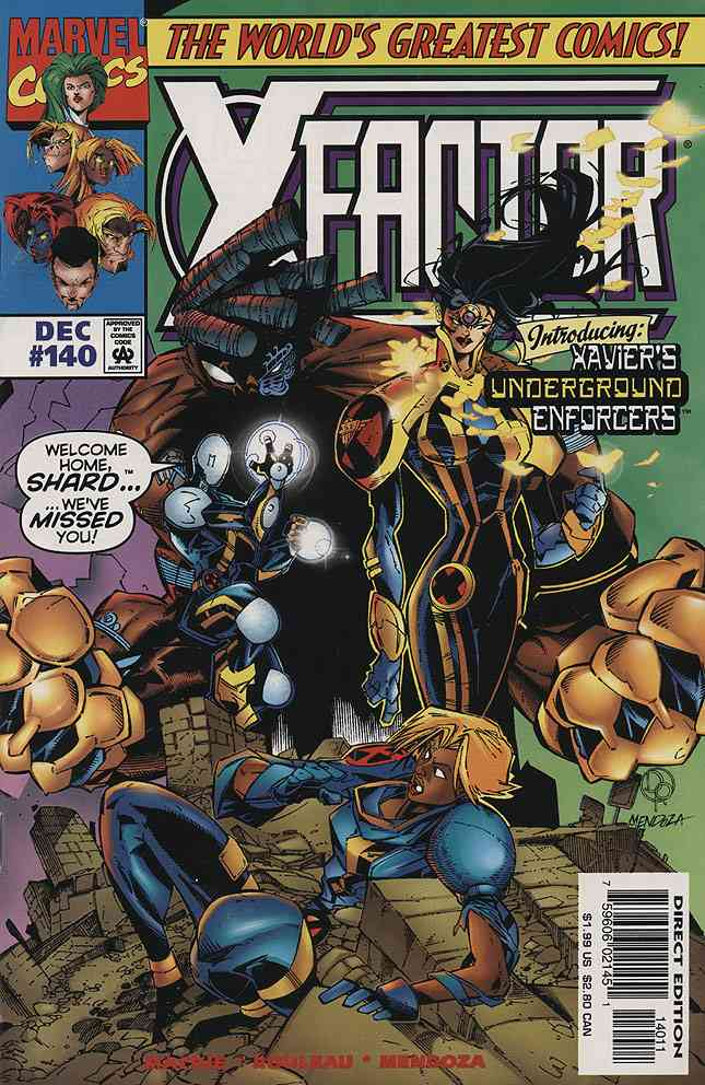 X-Factor comic issue 140