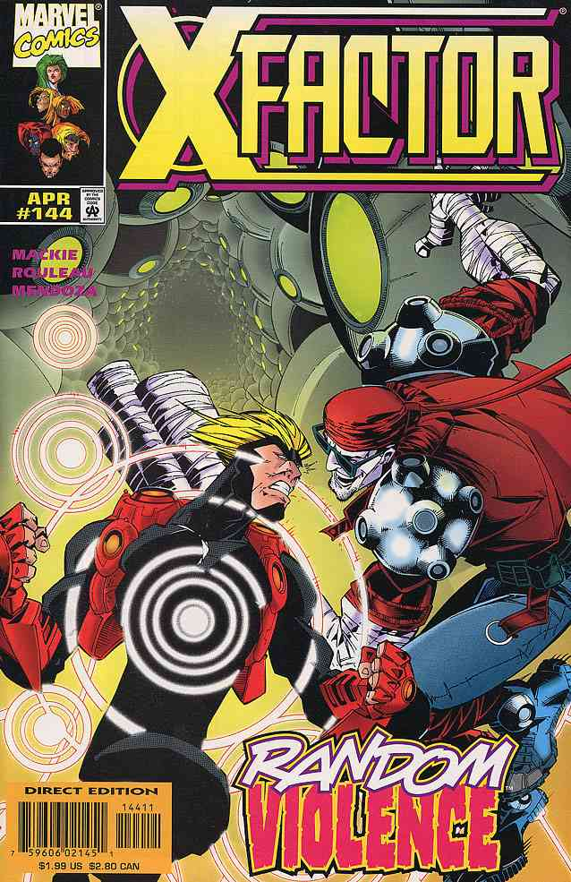 X-Factor comic issue 144