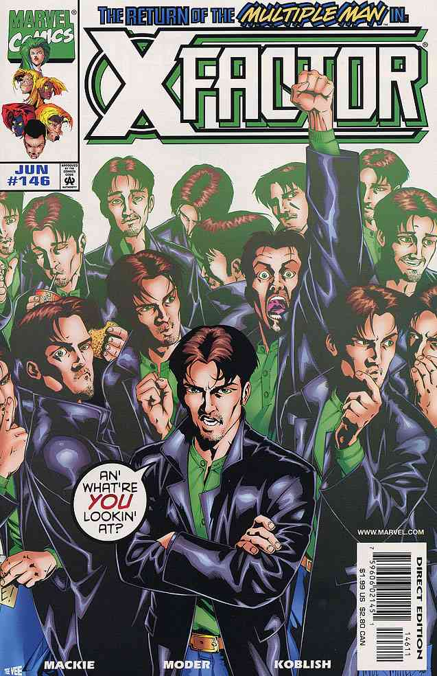 X-Factor comic issue 146