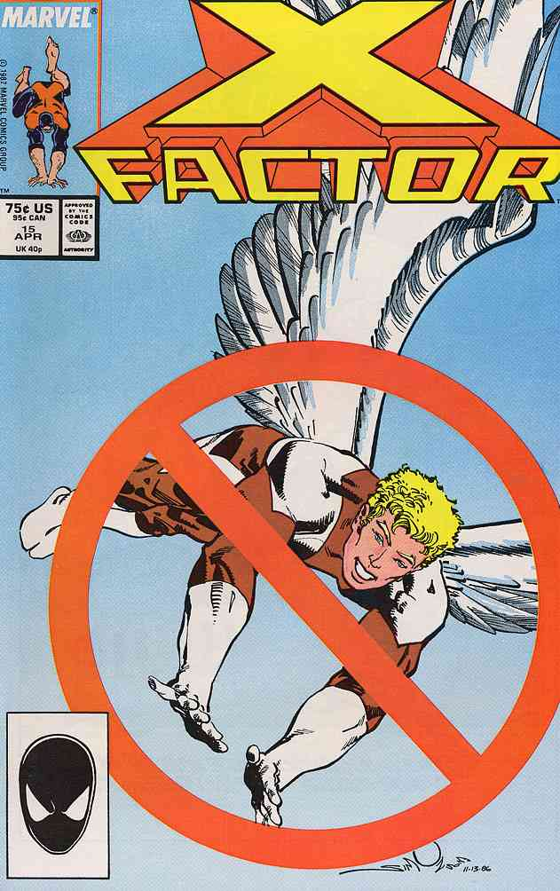 X-Factor comic issue 15