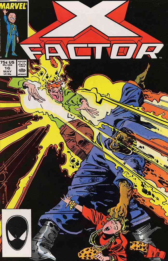 X-Factor comic issue 16