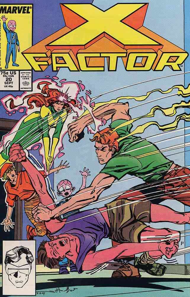 X-Factor comic issue 20