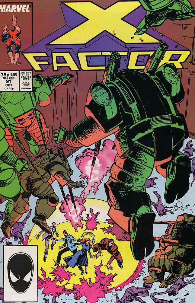X-Factor comic issue 21