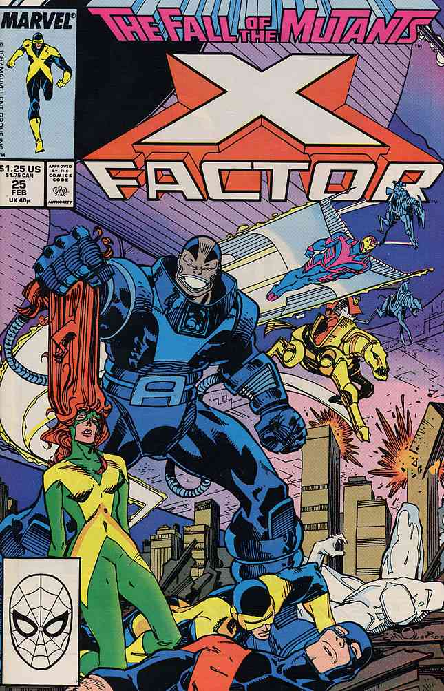 X-Factor comic issue 25