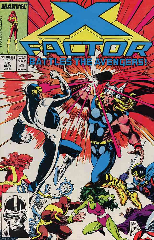 X-Factor comic issue 32