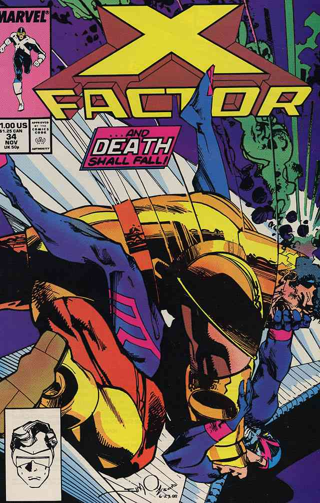 X-Factor comic issue 34