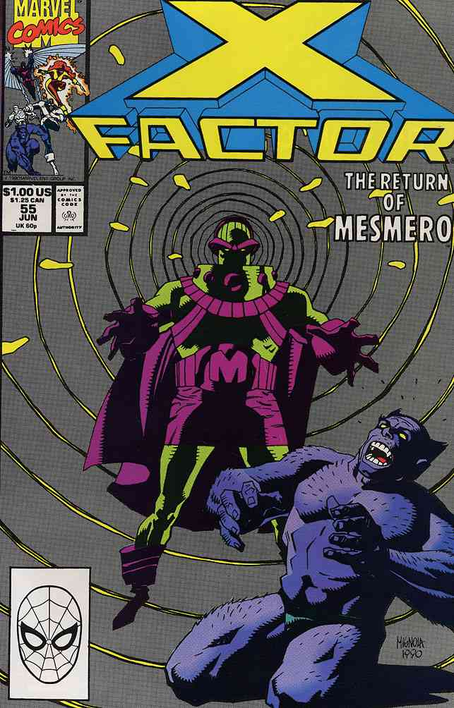 X-Factor comic issue 55