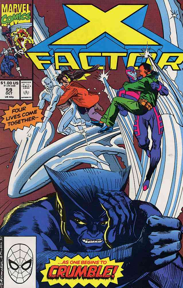 X-Factor comic issue 59