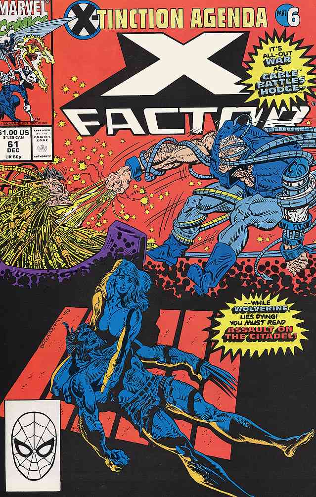 X-Factor comic issue 61