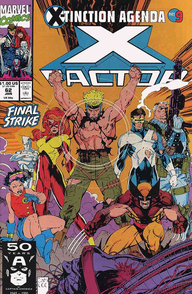 X-Factor comic issue 62