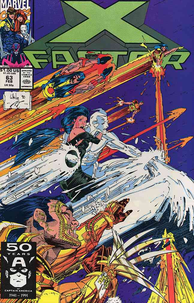 X-Factor comic issue 63