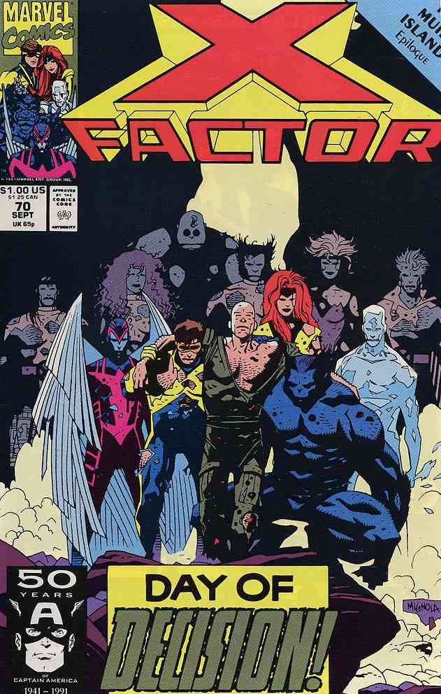 X-Factor comic issue 70