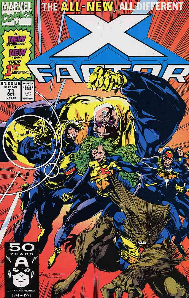 X-Factor comic issue 71