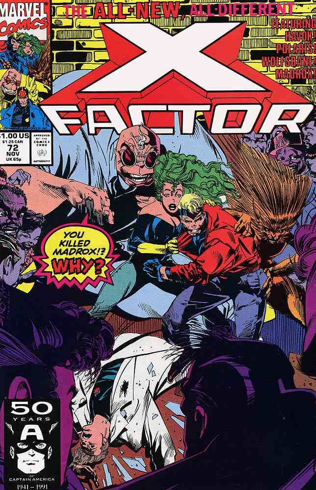 X-Factor comic issue 72