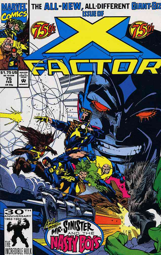 X-Factor comic issue 75