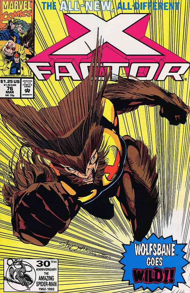 X-Factor comic issue 76