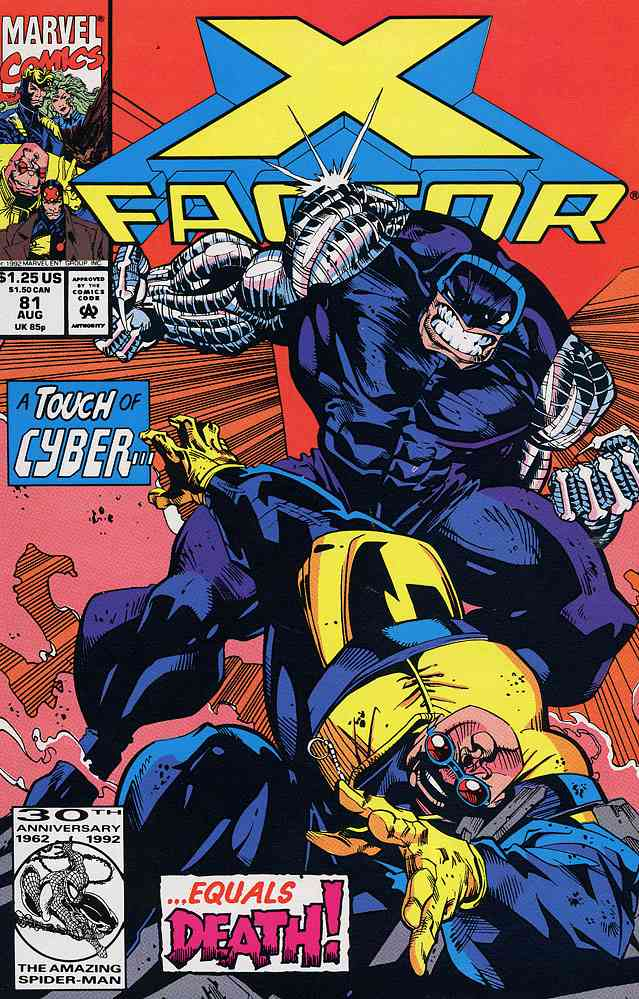 X-Factor comic issue 81