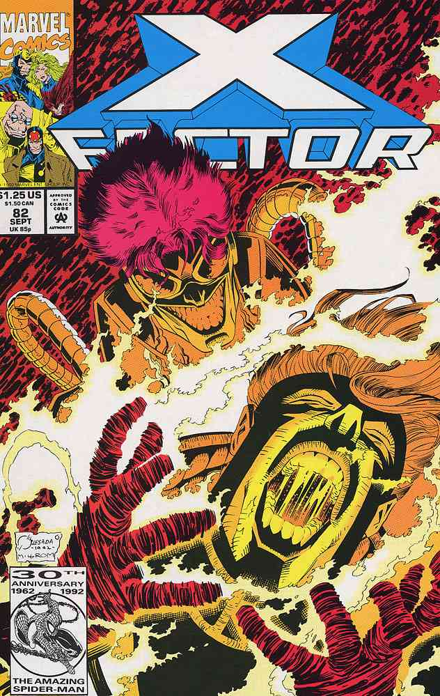 X-Factor comic issue 82