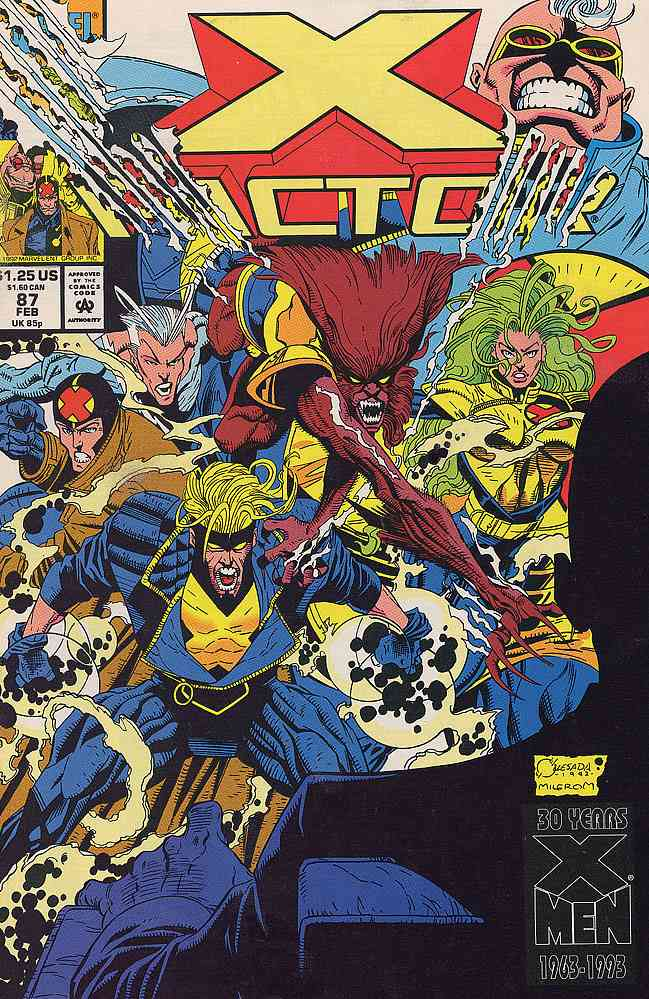 X-Factor comic issue 87