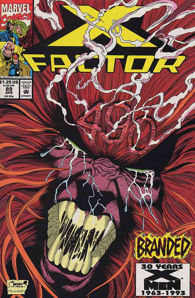 X-Factor comic issue 89