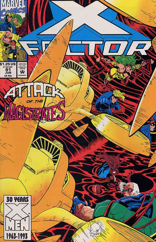 X-Factor comic issue 91