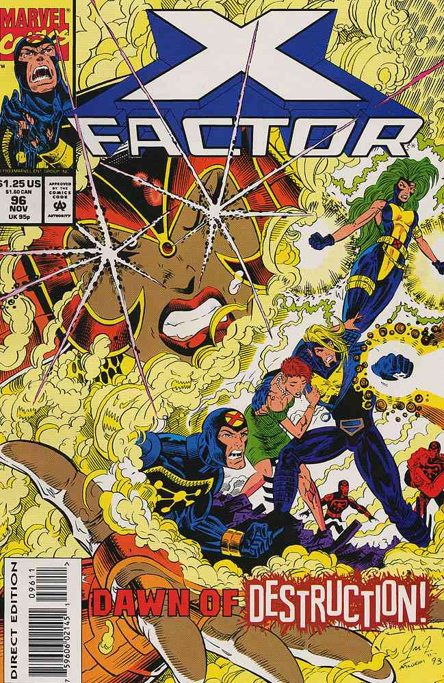 X-Factor comic issue 96
