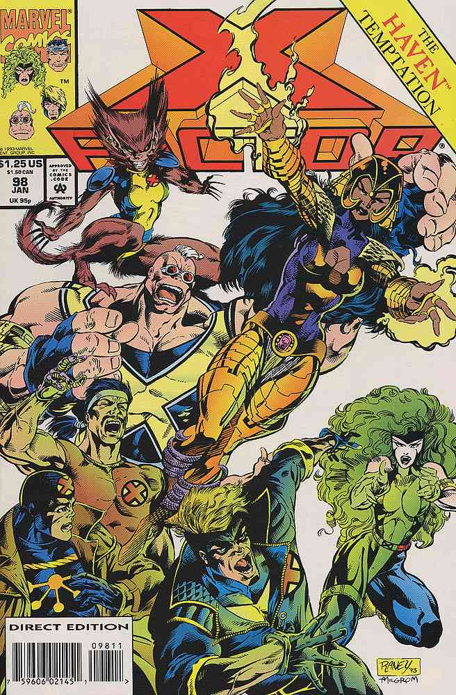 X-Factor comic issue 98