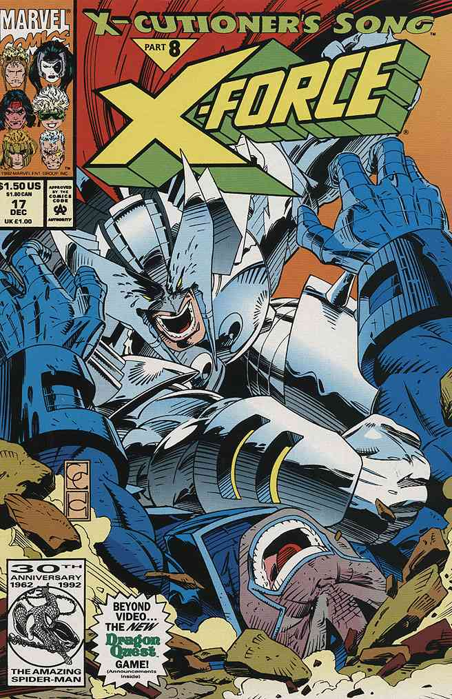 X-Force comic issue 17