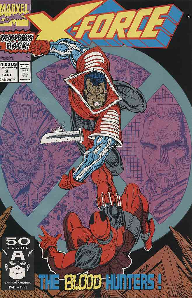 X-Force comic issue 2