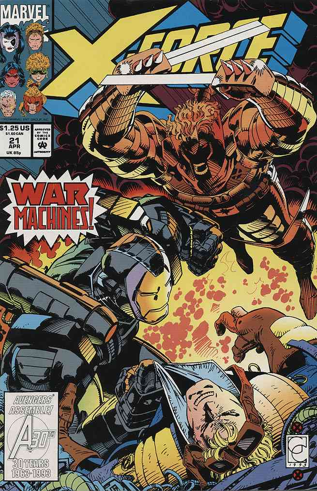 X-Force comic issue 21