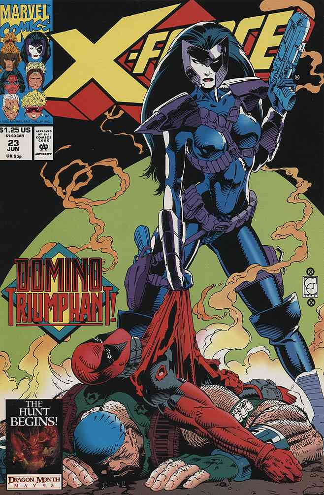 X-Force comic issue 23