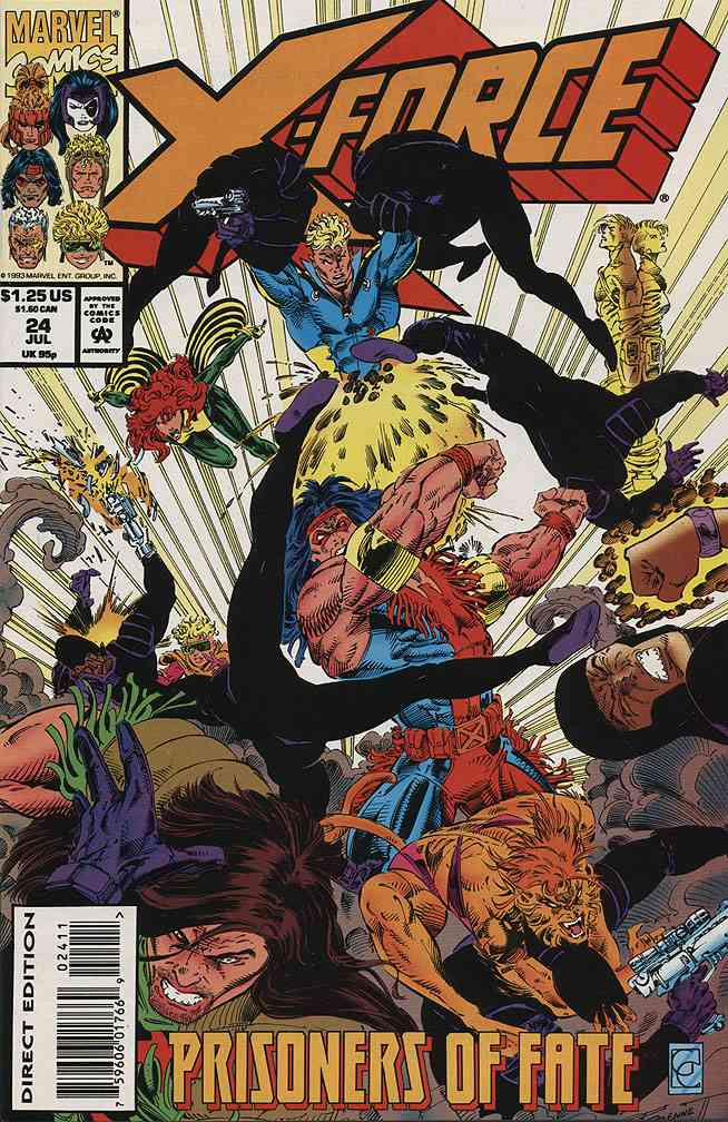 X-Force comic issue 24