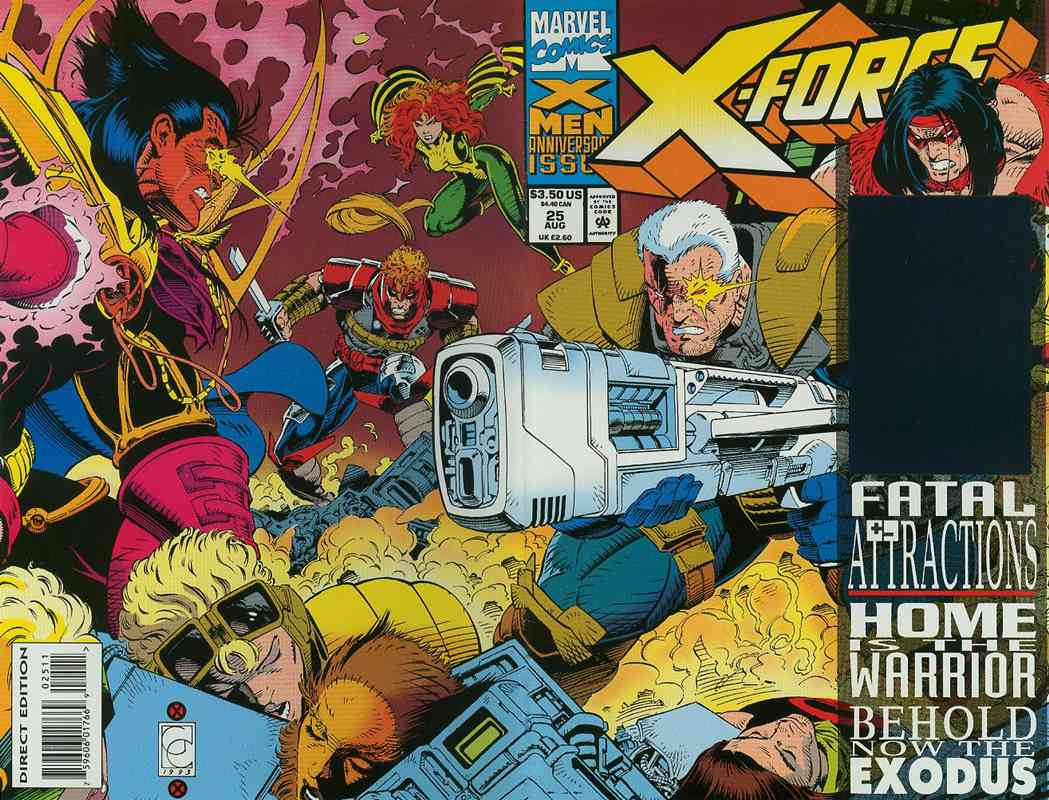 X-Force comic issue 25