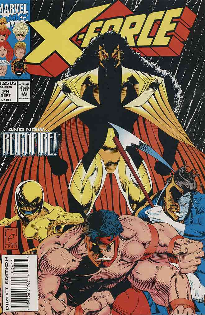 X-Force comic issue 26