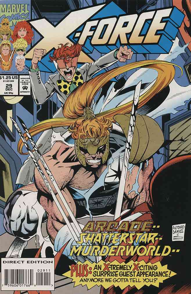 X-Force comic issue 29