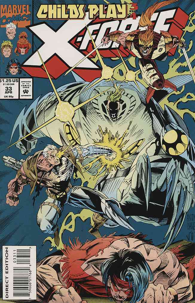 X-Force comic issue 33